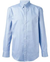 Emporio Armani Classic Shirt - Lyst