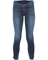 Mother Looker Ankle Fray Jean - Lyst