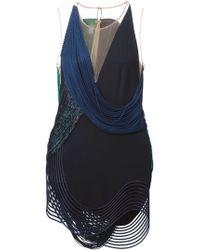 Stella McCartney Black Harriet Dress - Lyst