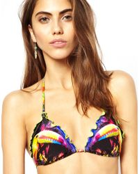 Seafolly Oasis Slide Triangle Bikini Top - Lyst