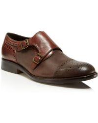 Johnston & Murphy - Decatur Double Monk Strap Shoes - Lyst