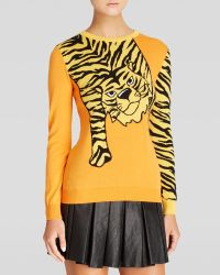 Moschino Cheap & Chic Pullover - Crewneck Graphic Tiger with Tail Sleeve - Lyst