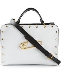 Versus  Safety Pin Detail Tote - Lyst