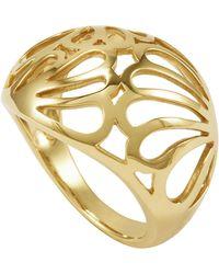 Lagos 18k Gold Petal Filigree Ring - Lyst