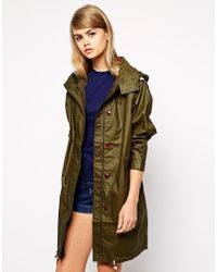 Fred Perry Oversized Parka - Lyst