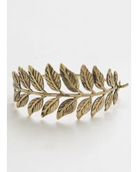 Ana Accessories Inc - Right In Frond Of You Bracelet - Lyst