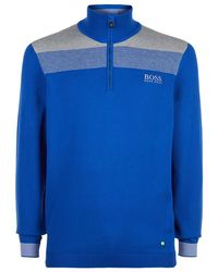 BOSS Green - Zelchior Pro Zip Sweater - Lyst