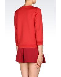 Emporio Armani | Sweatshirt In Neoprene | Lyst