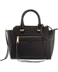Rebecca Minkoff Mini Avery Leather Tote Bag - Lyst