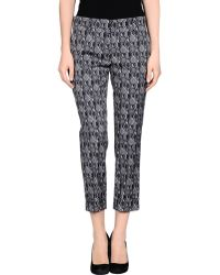 Prada 3/4-Length Trousers gray - Lyst