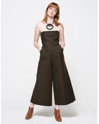 Rachel Comey Summon Jumpsuit green - Lyst