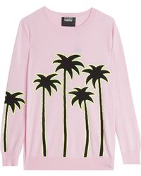 Markus Lupfer Palm Tree Jumper - Lyst