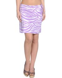 Blumarine Sarong purple - Lyst