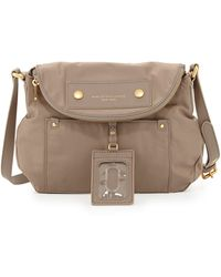 Marc By Marc Jacobs Preppy Nylon Natasha Crossbody Bag Cement - Lyst