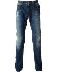 Diesel Faded Skinny Jeans - Lyst
