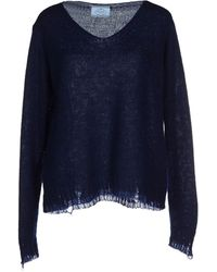 Prada Sweater blue - Lyst