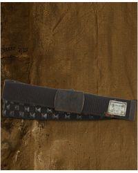 Denim & Supply Ralph Lauren - Webbed Cotton Pyramidstud Belt - Lyst