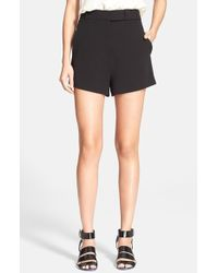 Proenza Schouler High Waist Suiting Shorts - Lyst