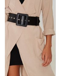 Nasty Gal - Fair And Square Belt - Lyst