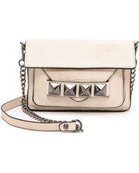 Linea Pelle   Grayson Bar Bag - Stone   Lyst