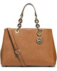 MICHAEL Michael Kors Medium Satchel - Lyst