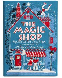 Olympia Le-Tan The Magic Shop Embroidered Book Clutch - Lyst