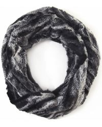 Helene Berman Faux Fur Snood gray - Lyst