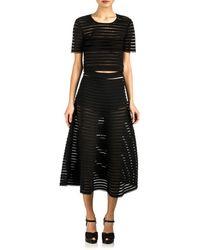 Cynthia Rowley Midi Skirt - Lyst