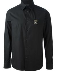 Diesel Black Gold Long Sleeved Shirt - Lyst