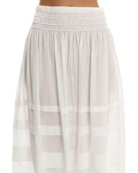 Loveshackfancy   Margaux Skirt   Lyst