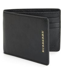 Burberry Leather Hipfold Wallet - Lyst