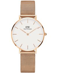 Daniel Wellington Classic Petite Melrose Rose Gold-plated Watch - Metallic