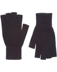 Burton - Black Fingerless Gloves - Lyst