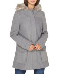 Dorothy Perkins - **tall Grey Utility Duffle Coat - Lyst