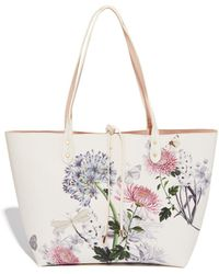 Oasis - Multi Reversible 'natural History Museum' Tie Bow Shopper - Lyst