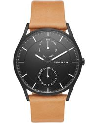 Skagen - Men's Black Holt Watch Skw6265 - Lyst