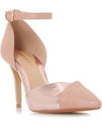 Dune - Pink 'cersey' High Stiletto Heel Court Shoes - Lyst