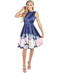571e53e8 Lipstick Boutique Blush 'selena' Blush Chiffon And Sequin Maxi Dress in  Pink - Lyst
