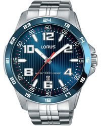 Lorus - Men's Blue Sports Bracelet Watch Rh901gx9 - Lyst