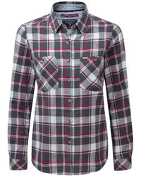 Tog 24 - Grey Check Madeline Shirt - Lyst