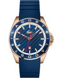 Lacoste - Gents Blue Strap Watch - Lyst