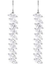 Coast - Silver 'keziah' Crystal Earrings - Lyst