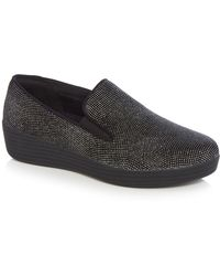 Fitflop - Black Superskate Trainers - Lyst