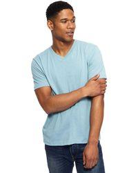 077545bf7c0 Red Herring - Aqua V-neck Slim Fit T-shirt - Lyst