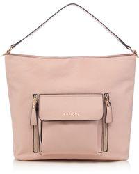 Kangol - Light Pink Large Pocket Shoulder Bag - Lyst