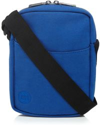 Mi-Pac - Blue Canvas Cross Body Bag - Lyst