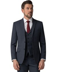 Ben Sherman - Airforce Waffle Weave Tailored Fit Jacket - Lyst