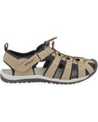 Gola - Taupe/black/orange 'shingle 3' Mens Sandals - Lyst
