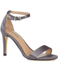 26bbc474e29 Call It Spring - Grey  ahlberg  High Stiletto Heel Ankle Strap Sandals -  Lyst