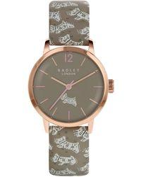 Radley - Ladies Multi-coloured 'folk Dog' Watch Ry2572 - Lyst